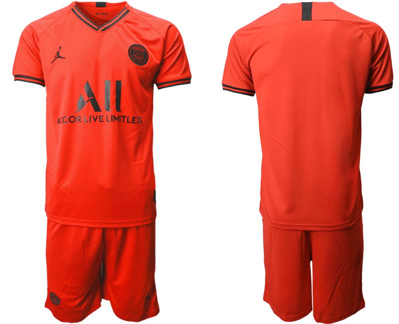 Men 2019-2020 club Paris St German away red Soccer Jerseys