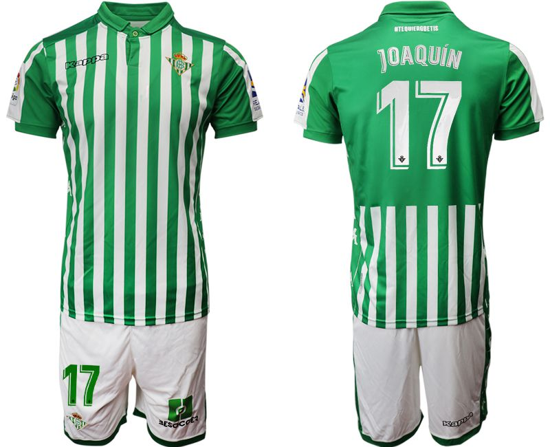 Men 2019-2020 club Real Betis home 17 green Soccer Jerseys