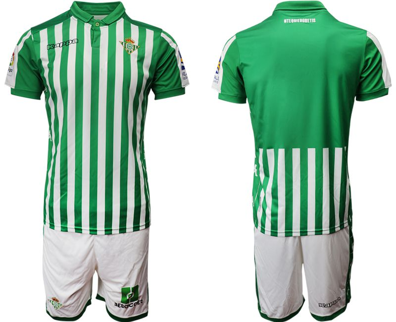 Men 2019-2020 club Real Betis home green Soccer Jerseys