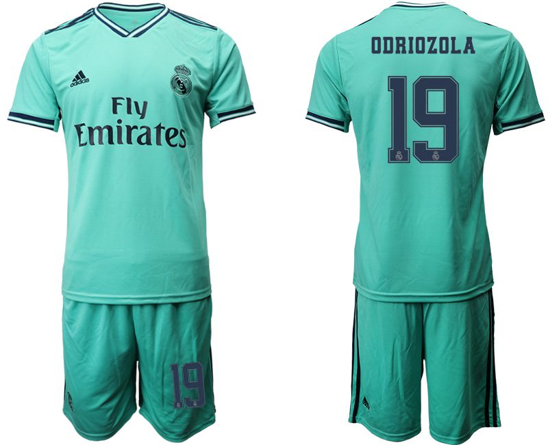 Men 2019-2020 club Real Madrid away 19 green Soccer Jerseys