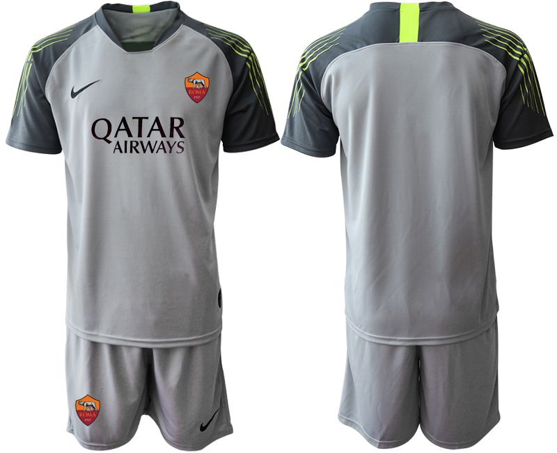 Men 2019-2020 club Rome gray goalkeeper Soccer Jerseys