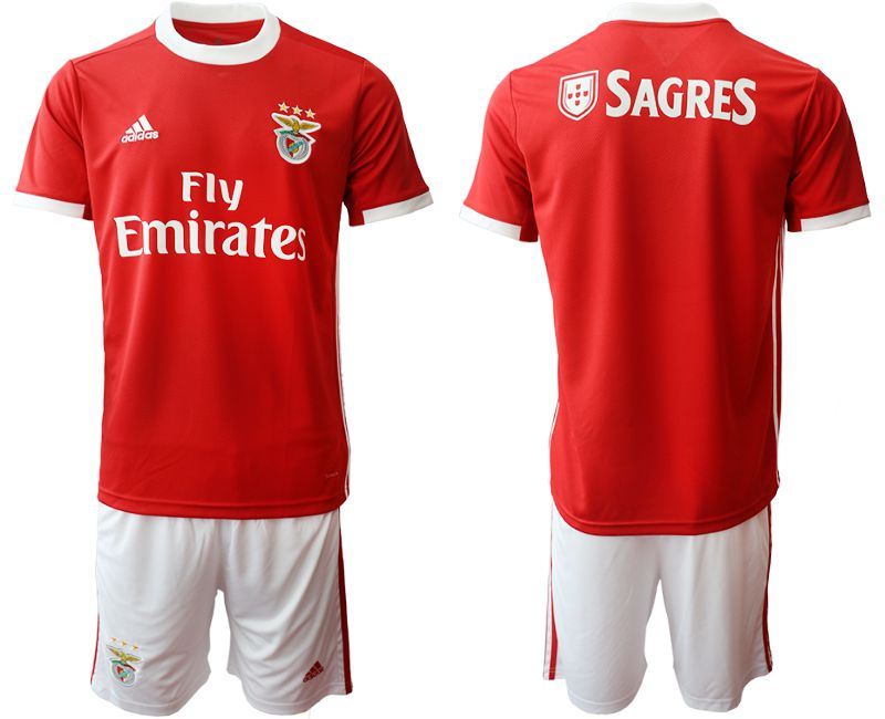 Men 2019-2020 club SL Benfica home red Soccer Jerseys