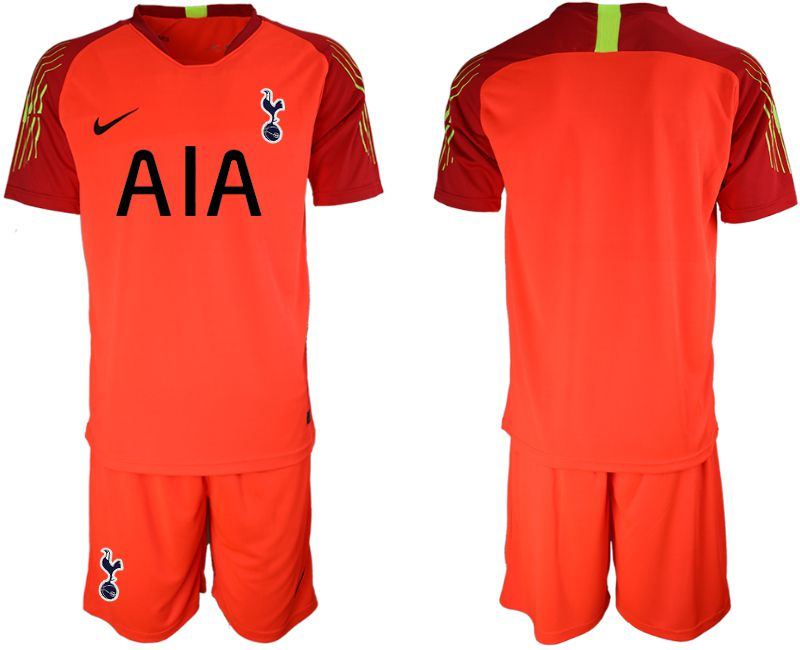 Men 2019-2020 club Tottenham Hotspur Football Club red goalkeeper Soccer Jerseys
