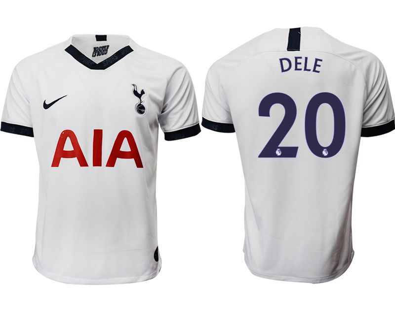 Men 2019-2020 club Tottenham Hotspur home aaa versio 20 white Soccer Jerseys