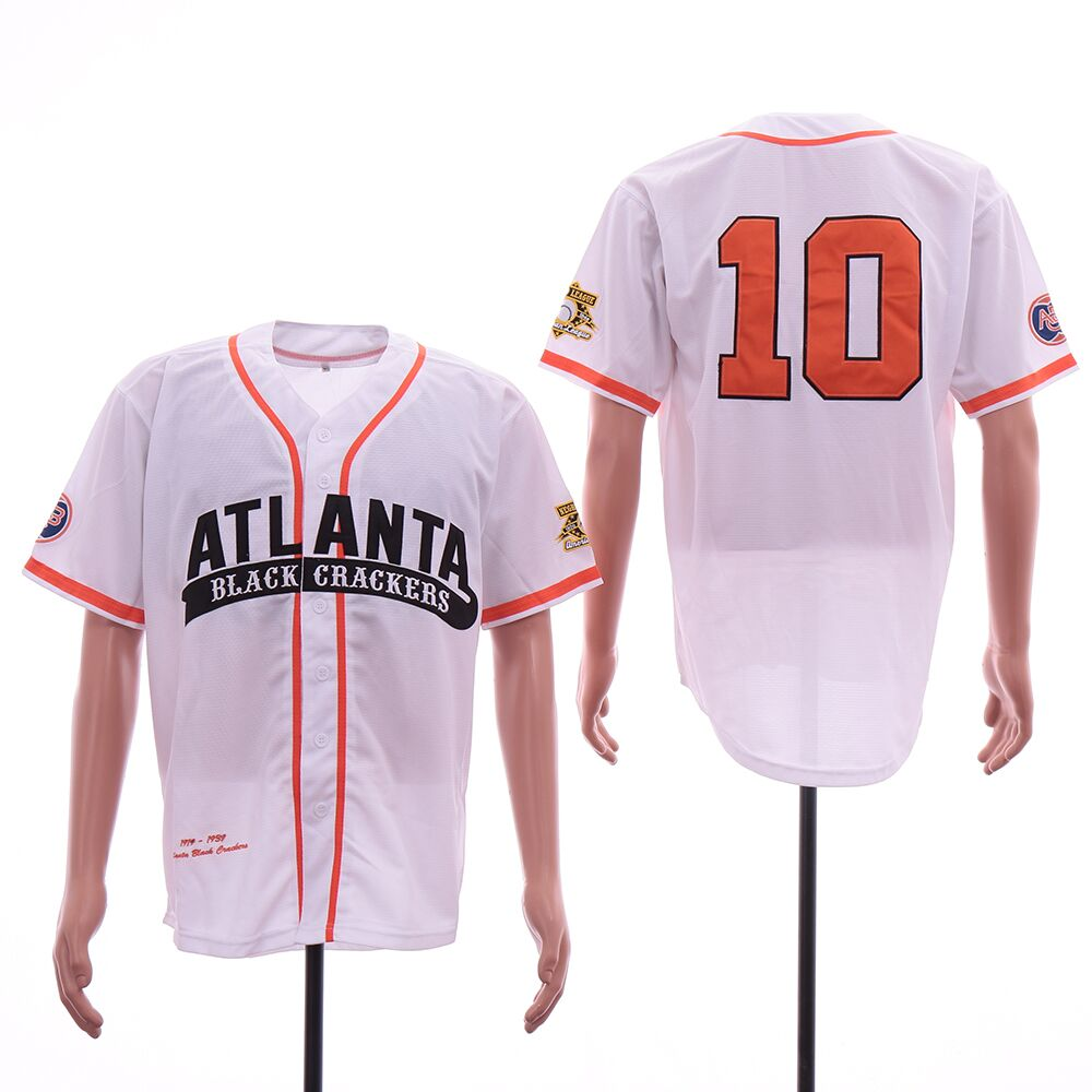 Men Atlanta Braves 10 Jones white Elite MLB Jerseys