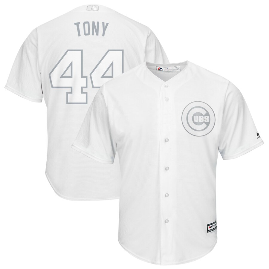Men Chicago Cubs 44 Tony white MLB Jerseys
