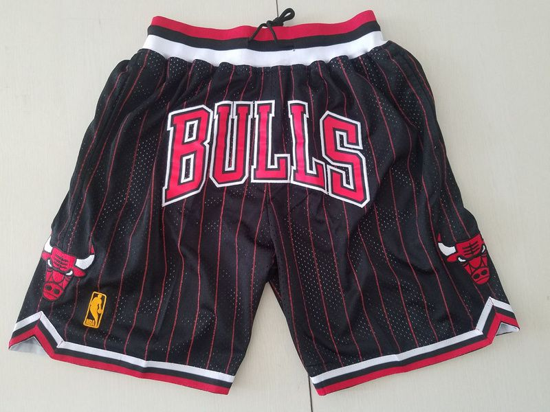 Men NBA Nike Chicago Bulls black shorts