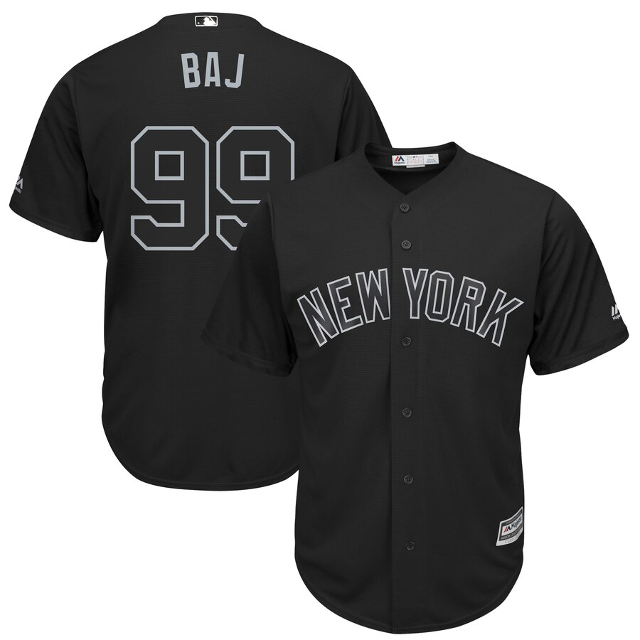 Men New York Mets 99 Baj black MLB Jersey