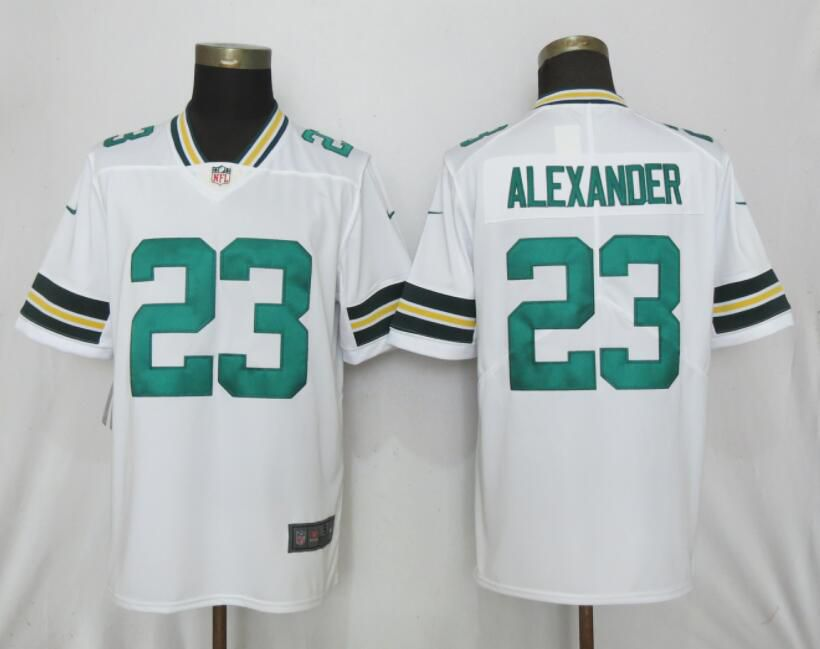 Men Nike Green Bay Packers 23 Alexander White 2017 Vapor Untouchable Limited jerseys