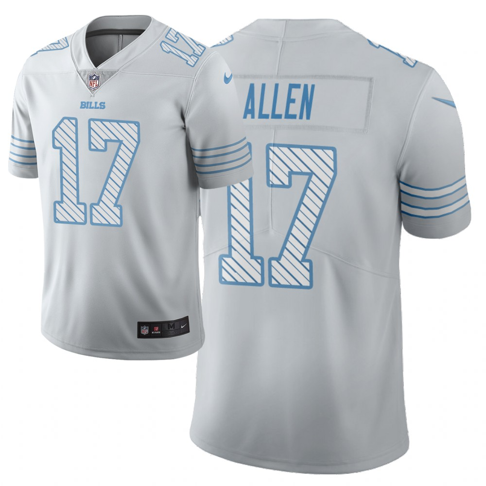 Men Nike NFL Buffalo Bills 17 josh allen Limited city edition white jersey