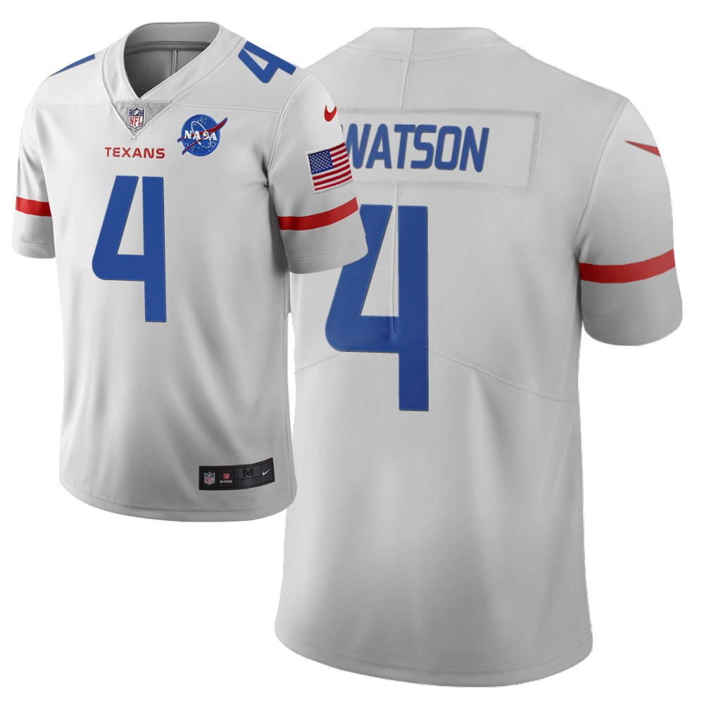 Men Nike NFL Houston Texans 4 deshaun watson Limited city edition white jersey