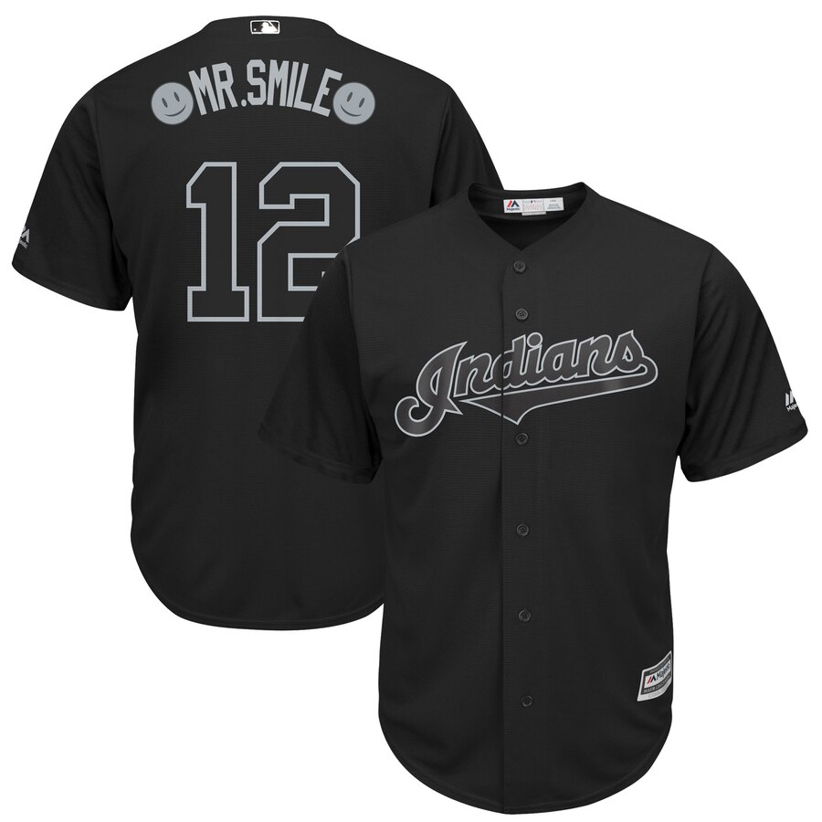 Men St. Louis Cardinals 12 Mr Smile black MLB Jerseys