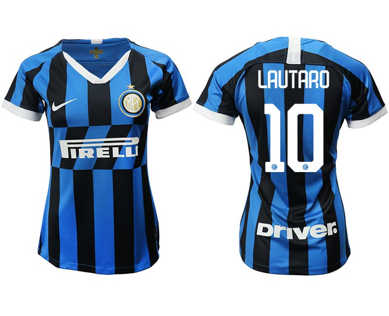 Women 2019-2020 club Inter Milan home aaa version 10 blue Soccer Jerseys