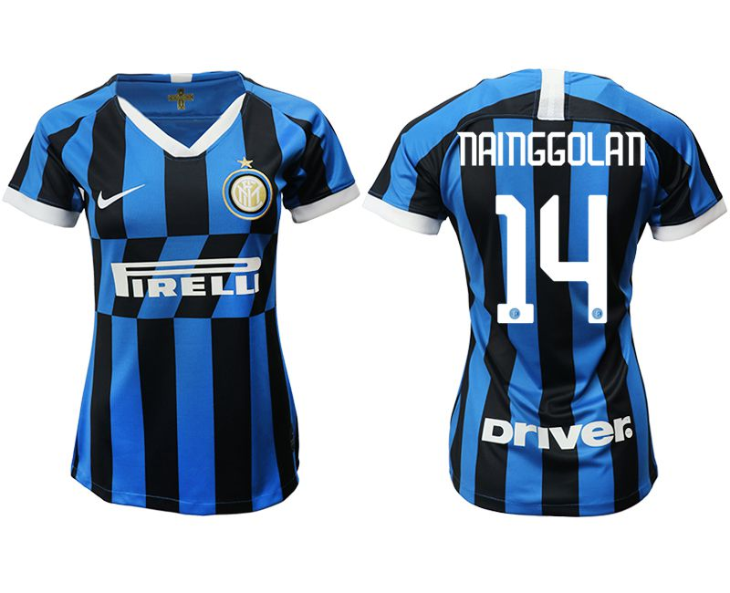 Women 2019-2020 club Inter Milan home aaa version 14 blue Soccer Jerseys