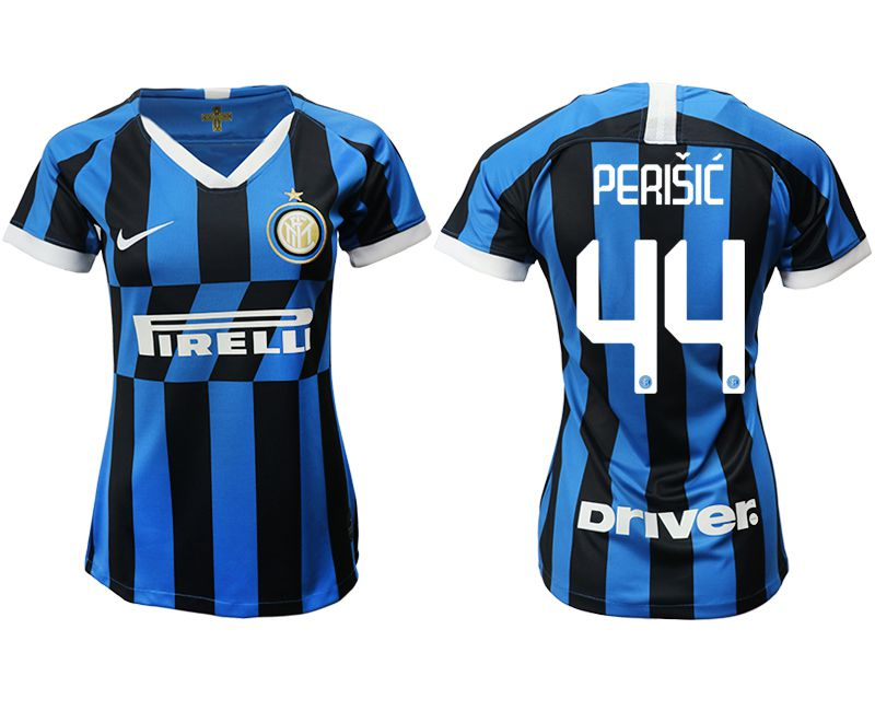 Women 2019-2020 club Inter Milan home aaa version 44 blue Soccer Jerseys