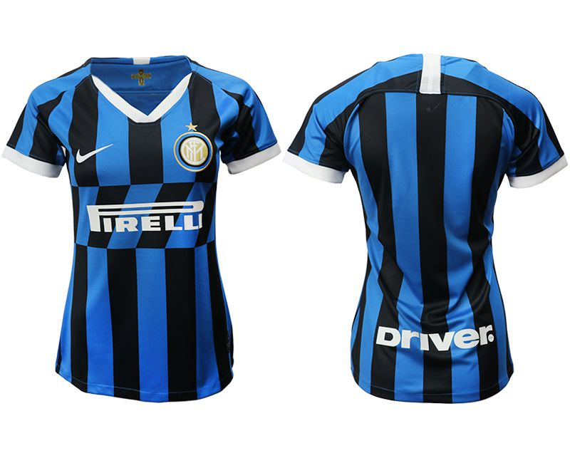 Women 2019-2020 club Inter Milan home aaa version blue Soccer Jerseys