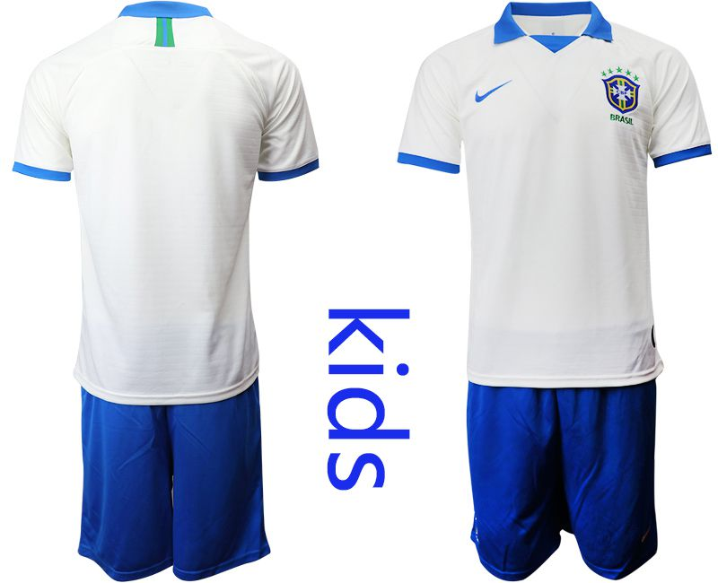 Youth 2019-2020 Season National Team Brazil white special edition Soccer Jerseys
