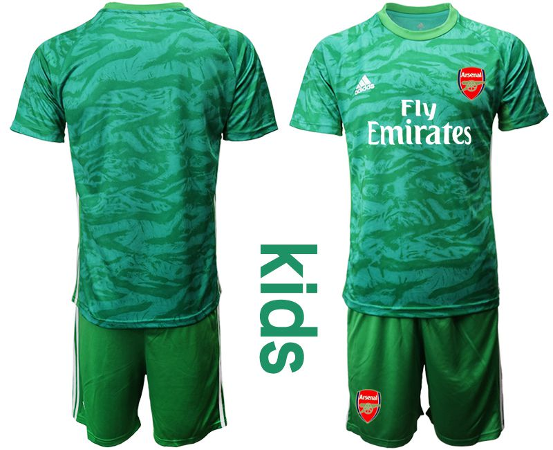 Youth 2019-2020 club Arsenal green goalkeeper Soccer Jerseys