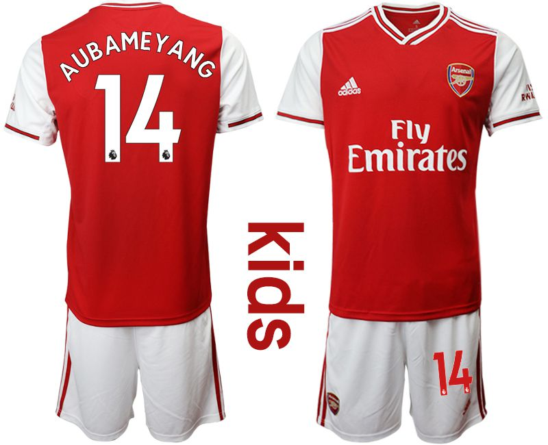 Youth 2019-2020 club Arsenal home 14 red Soccer Jerseys