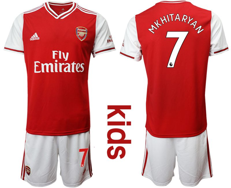 Youth 2019-2020 club Arsenal home 7 red Soccer Jerseys
