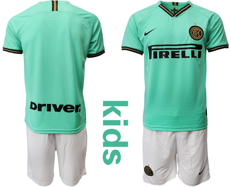 Youth 2019-2020 club Inter Milan away green Soccer Jerseys