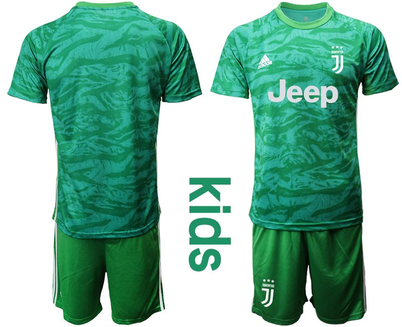 Youth 2019-2020 club Juventus green goalkeeper Soccer Jerseys