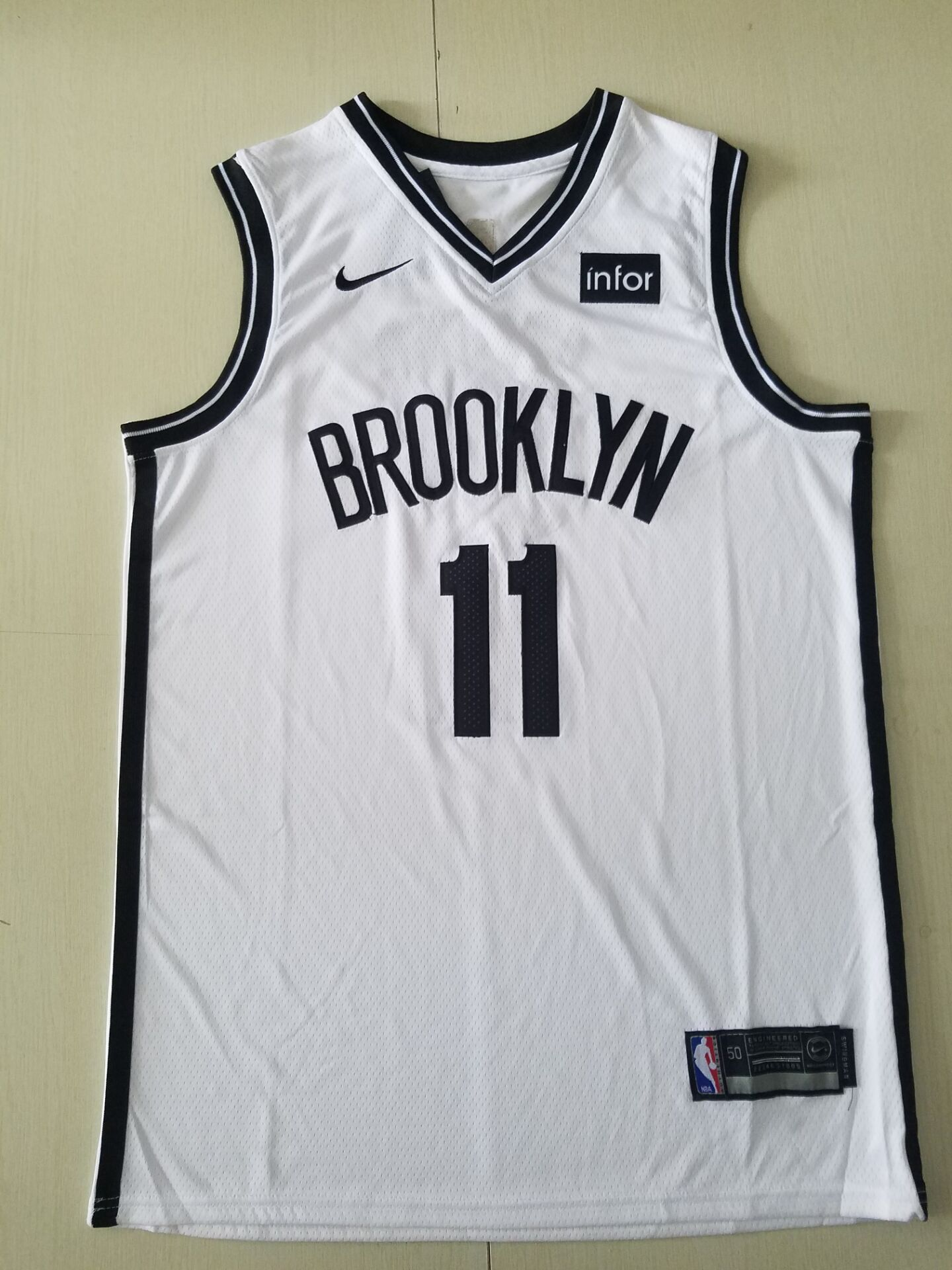 Youth Brooklyn Nets 11 Irving White Nike Game NBA Jerseys