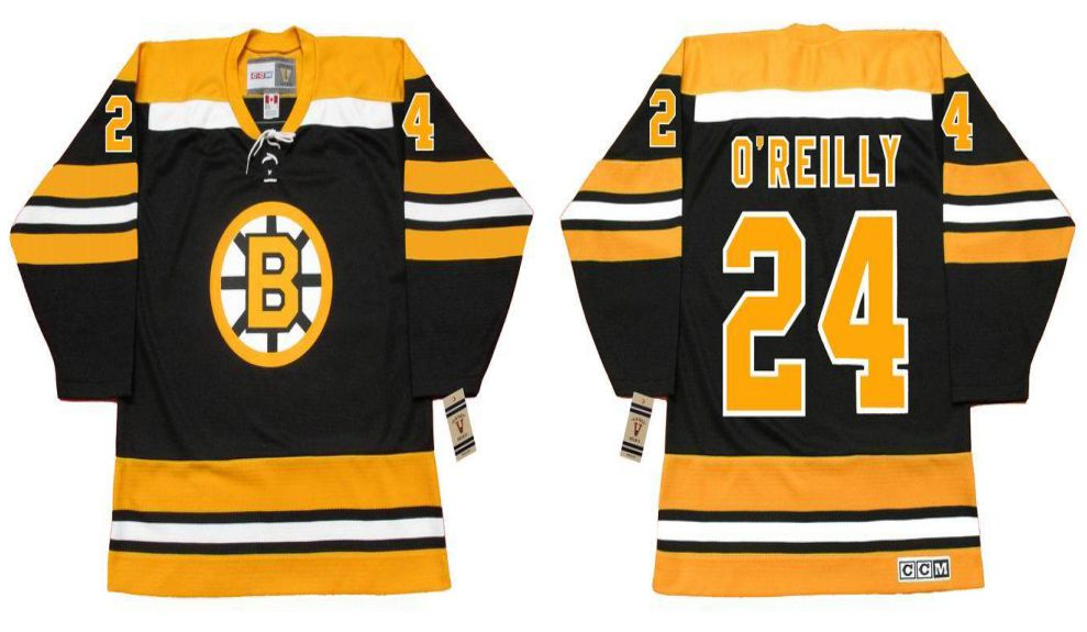 2019 Men Boston Bruins 24 Oreilly Black CCM NHL jerseys