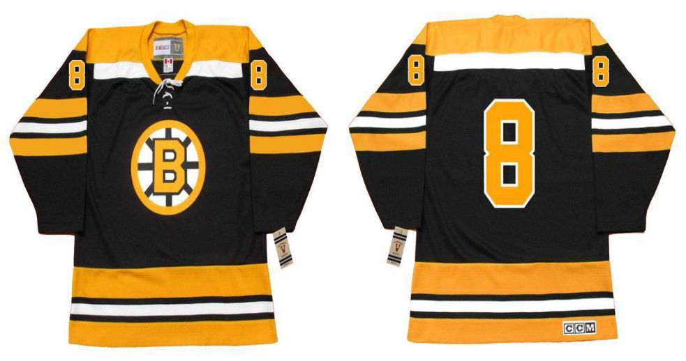 2019 Men Boston Bruins 8 Hodge Black CCM NHL jerseys1