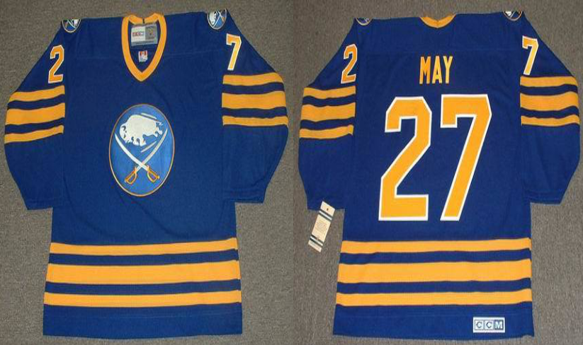2019 Men Buffalo Sabres 27 May blue CCM NHL jerseys