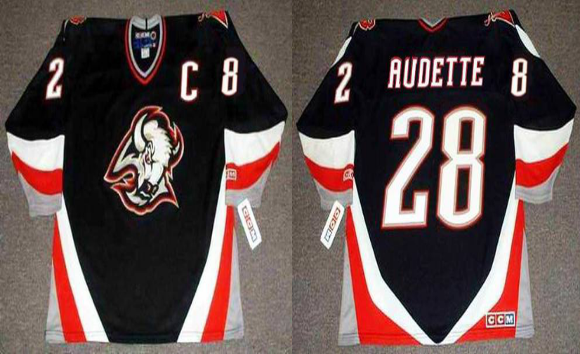 2019 Men Buffalo Sabres 28 Audette black CCM NHL jerseys
