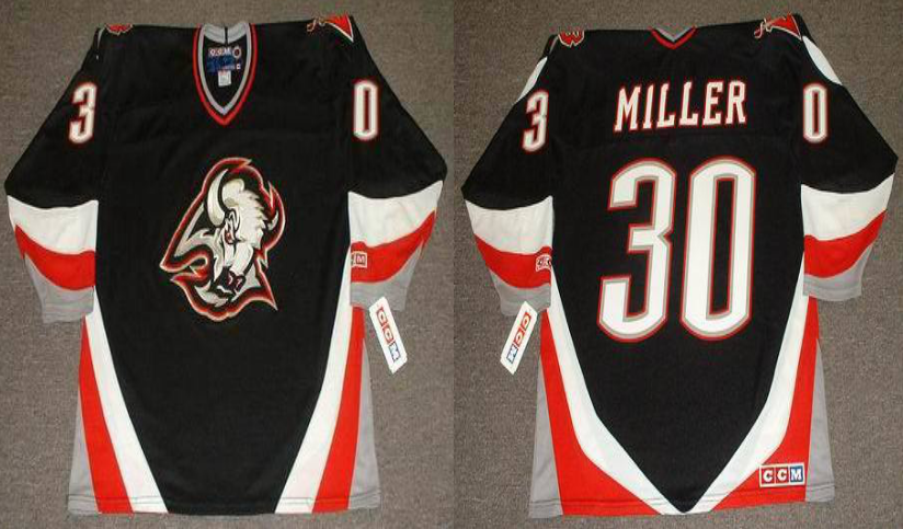 2019 Men Buffalo Sabres 30 Miller black CCM NHL jerseys