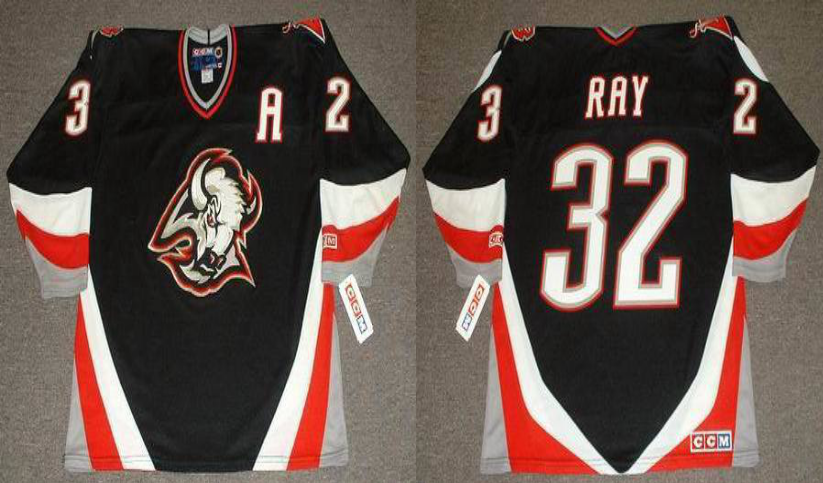 2019 Men Buffalo Sabres 32 Ray black CCM NHL jerseys