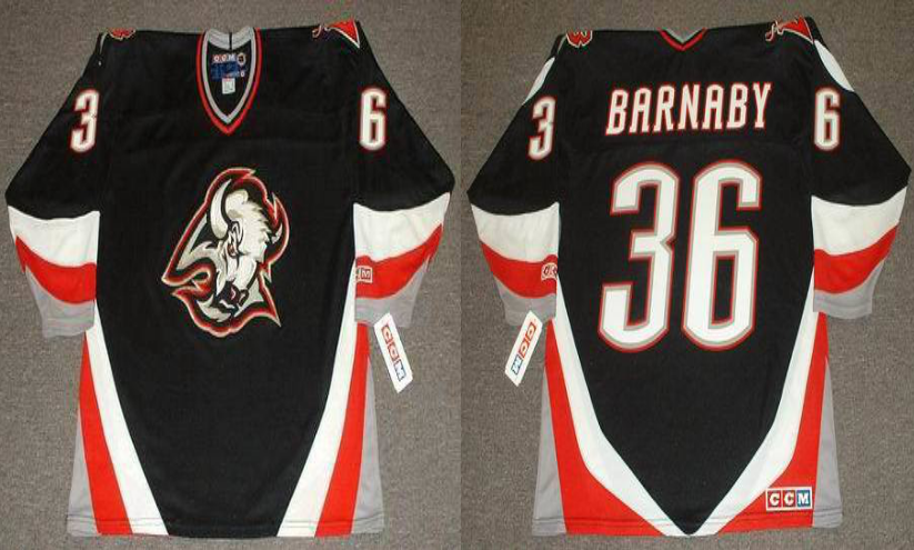 2019 Men Buffalo Sabres 36 Barnaby black CCM NHL jerseys