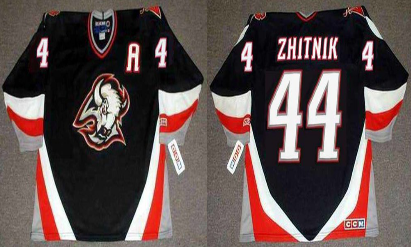 2019 Men Buffalo Sabres 44 Zhitnik black CCM NHL jerseys