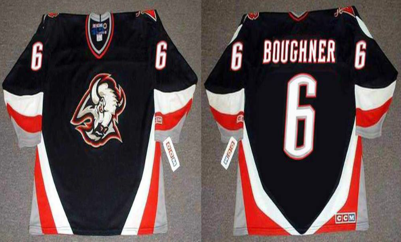 2019 Men Buffalo Sabres 6 Boughner black CCM NHL jerseys