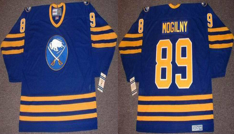 2019 Men Buffalo Sabres 99 Mogilny blue CCM NHL jerseys