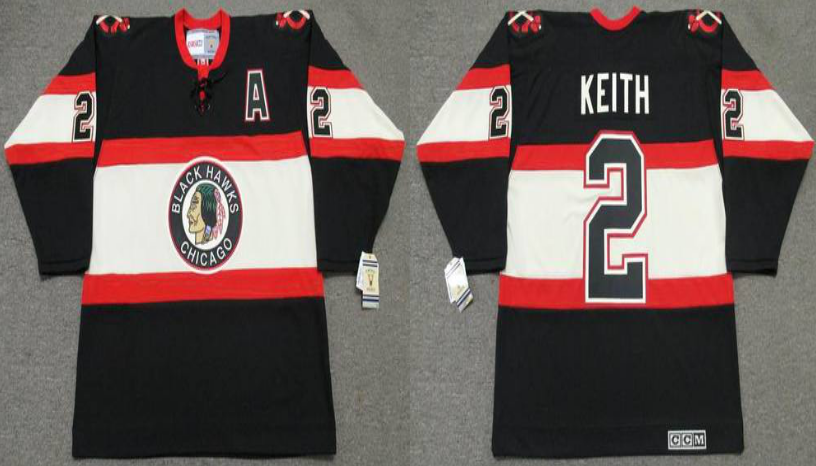 2019 Men Chicago Blackhawks 2 Keith CCM NHL jerseys