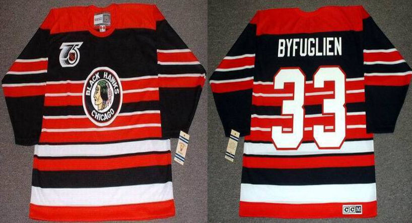 2019 Men Chicago Blackhawks 33 Byfuglien red CCM NHL jerseys