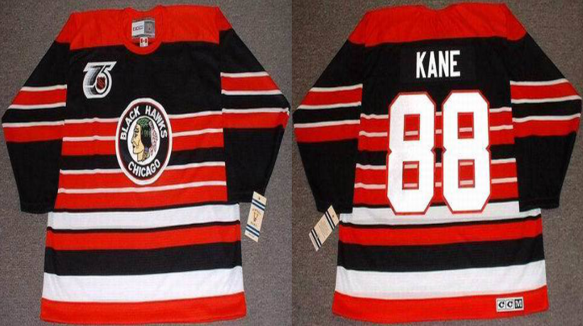 2019 Men Chicago Blackhawks 88 Kane red CCM NHL jerseys