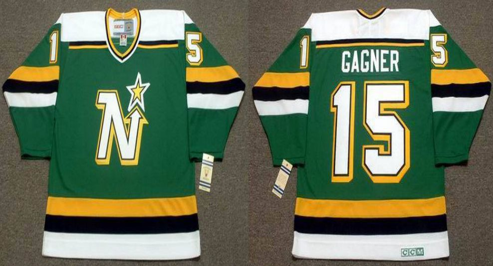 2019 Men Dallas Stars 15 Gagner Green CCM NHL jerseys