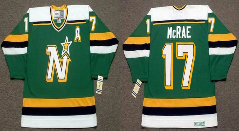 2019 Men Dallas Stars 17 Mcrae Green CCM NHL jerseys