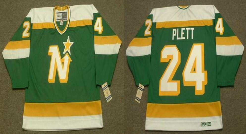 2019 Men Dallas Stars 24 Plett Green CCM NHL jerseys