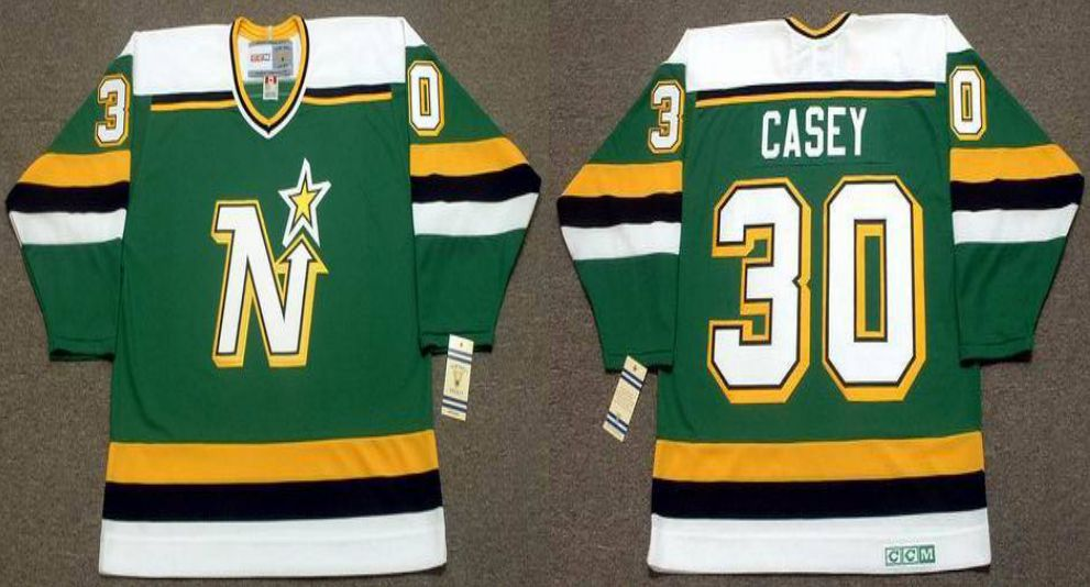 2019 Men Dallas Stars 30 Casey Green CCM NHL jerseys
