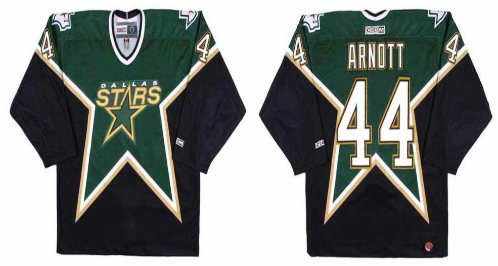 2019 Men Dallas Stars 44 Arnott Black CCM NHL jerseys