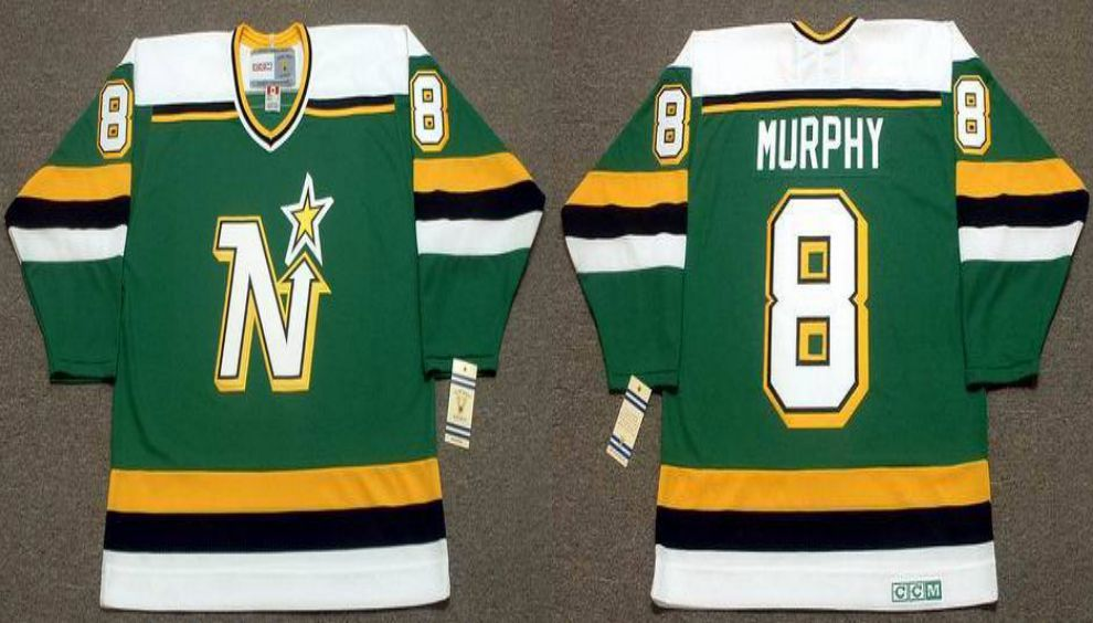 2019 Men Dallas Stars 8 Murphy Green CCM NHL jerseys