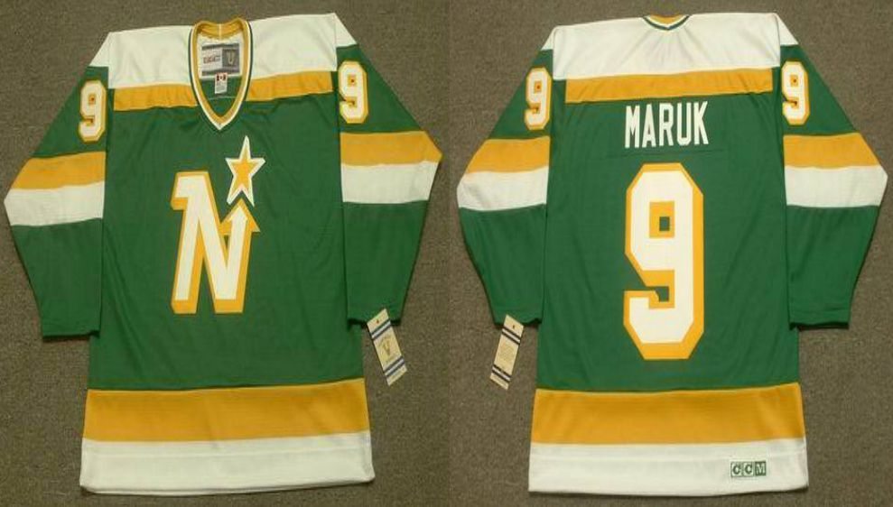 2019 Men Dallas Stars 9 Maruk Green CCM NHL jerseys
