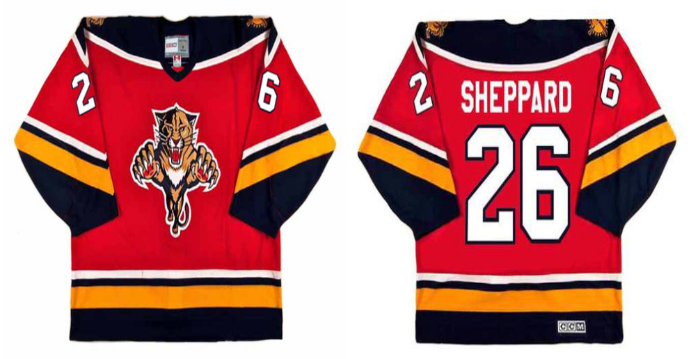 2019 Men Florida Panthers 26 Sheppard CCM NHL jerseys