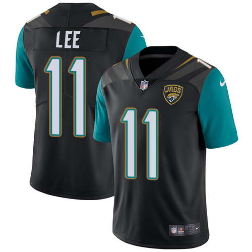 2019 Men Jacksonville Jaguars 11 Lee black Nike Vapor Untouchable Limited NFL Jersey