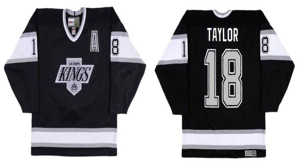 2019 Men Los Angeles Kings 18 Taylor Black CCM NHL jerseys